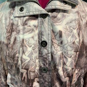 Alberto Makali Bomber Style Jacket